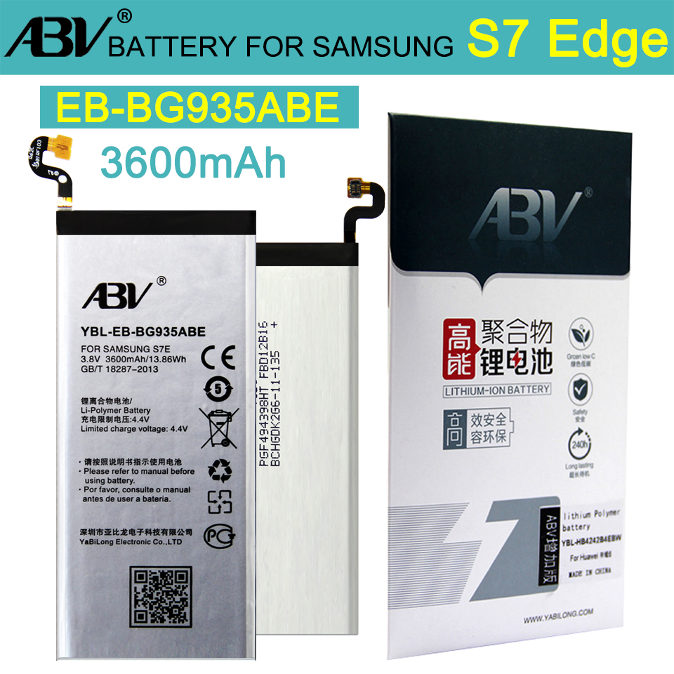 ABV Replacement Battery G935A S7-Edge Samsung Galaxy Li-Ion Original For G935/G935f/G935a/G935v