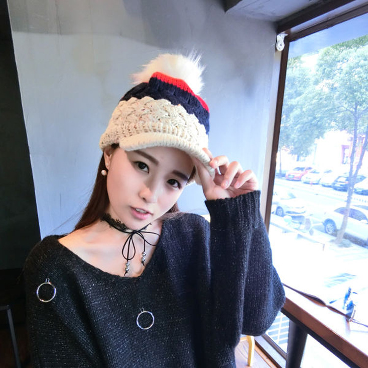 One Sale Fashion Winter Hats For Woman Hat Scarf Sets Female