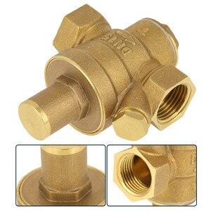 "Image 2 - DN15 1/2"" Reducing Regulator Valve Brass Water Pressure Reducing Regulator Valve Adjustable Thread Water Pressure Reducing Valve"