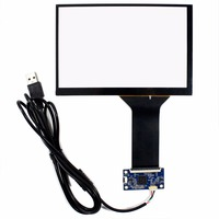 7 Capacitive Touch Screen USB Controller For 1280x800 N070ICG LCD Screen