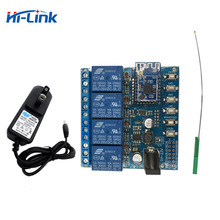 Free shipping NEW version 4 channel relay module smart switch Support Android,IOS ,Google Home and Google Assistant with antenna