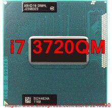 Оригинальный процессор lntel Core i7 3720qm SR0ML, 6 мб кэш-памяти, 2,6-3,6 ггц, четырехъядерный процессор, процессор для ноутбука, бесплатная доставка