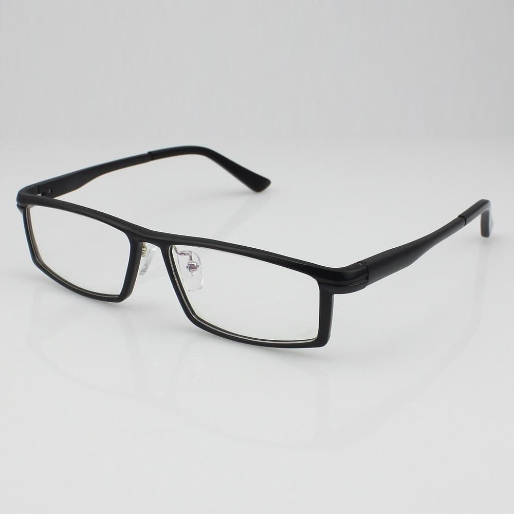 ⑧131 Aluminum magnesium alloy Men\'s Full Rim Eyeglass Frame Spring ...