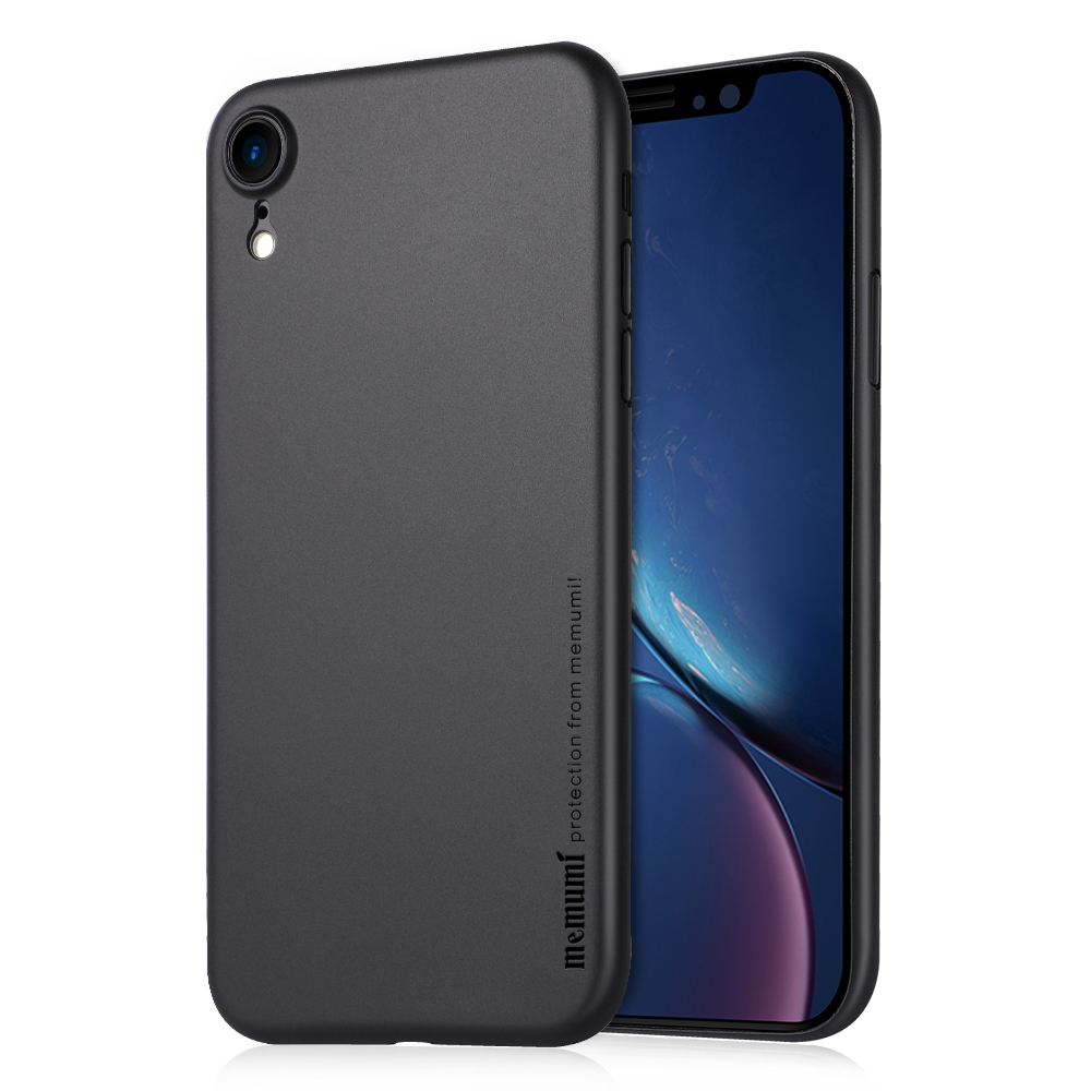 memumi Case for iPhone XR 6 1 2018 Ultra Thin 0 3 mm PP Matte Finish