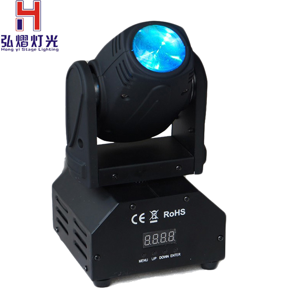 Factory salebeam moving head 4in1 10w mini moving head beam Spot Light Dj Disco Club Party Wedding Stage Effect Lighting discount price 8 pack 180w 2r sharpy beam spot moving head light dmx512 for stage lighting dj disco club party dance wedding bar