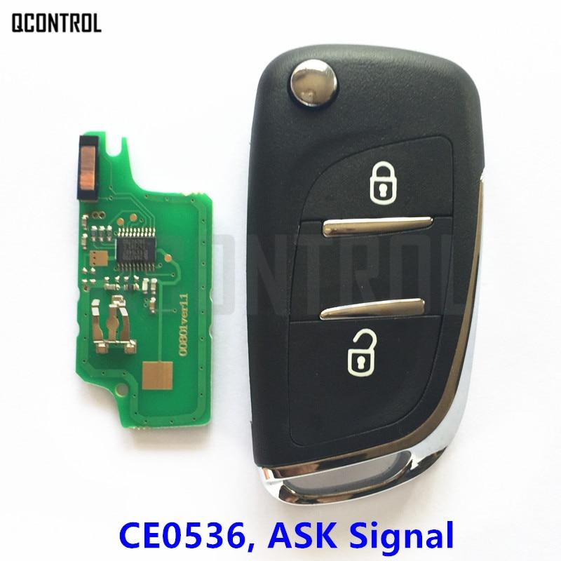 QCONTROL Upgraded Remote Key Fit for CITROEN Berlingo 2009 - 2011