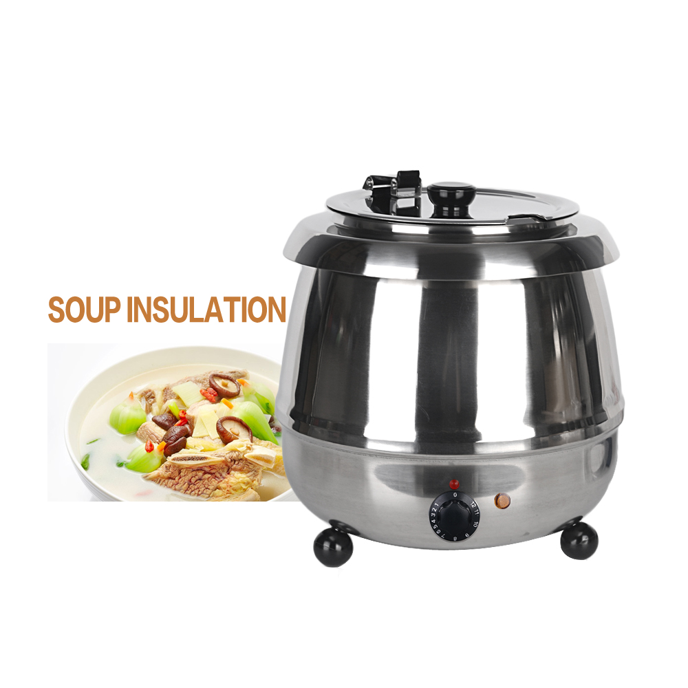 ITOP Stainless Steel 10L Soup Pots Multi Cooker Electric Soup Kettle Machine Chicken Bone Stew Soup Adjustable Temperature bai lin tong oil soup diet bailingtong oil tang zhengpin lotus soup a bowl of oil stocks blue tea soup page 6