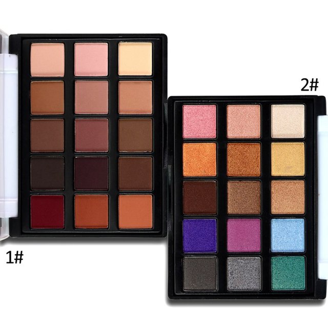 15 Colour Eyeshadow Makeup Palette Natural Eye Makeup Light Eye