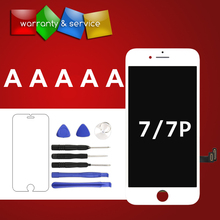 Great quality No Dead Pixel For iPhone 7 7 plus lcd display Replacement with Touch screen Digitizer Assembly for mobile phone недорго, оригинальная цена