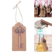 24 stk / sæt Champagne vinflaskeåbner med mærker Nøgleform Party Bryllup Special Events Red Wine Bottle Tool