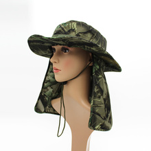 Wholesale Military Camouflage Bucket Hats Fishing Fisherman Hunting Men Adult Safari Sun Protection Hunter jungle Mountain Cap