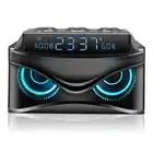EAAGD светодиодный цифровой будильник с регулируемой яркостью с беспроводной 19 Вт смарт Bluetooth динамик/Micro TF слот/FM радио/AUX