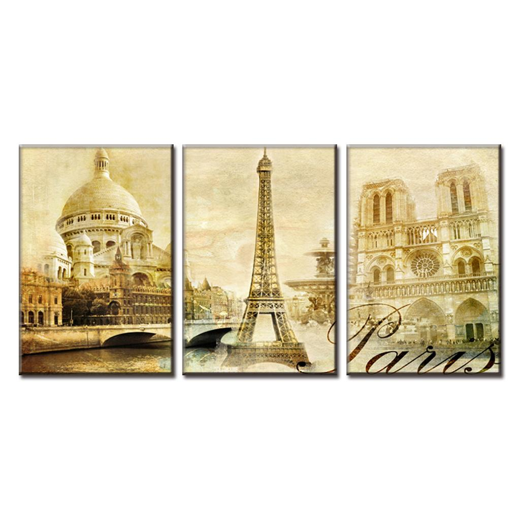 Custom 90+ Paris Canvas Wall Art Inspiration Design Of Wall Art ...