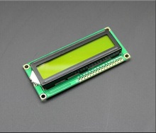 1PCS LCD1602A 1602 module green screen 16x2 Character LCD Display Module.1602 5V green screen and white code for arduino(China)