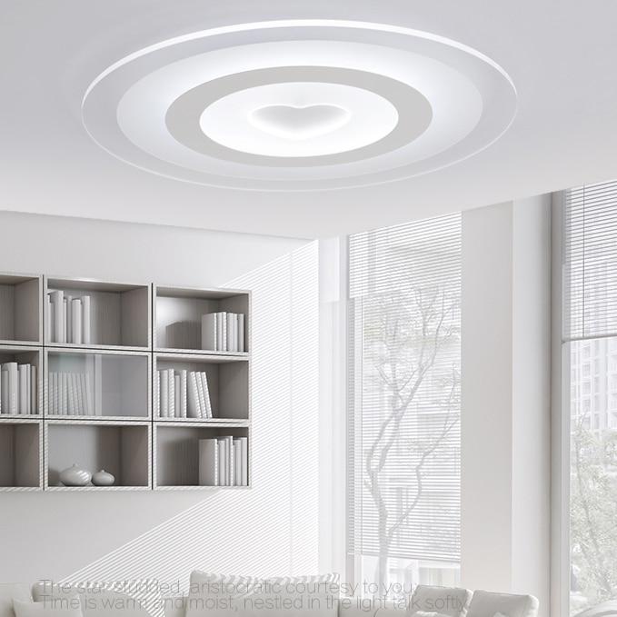 US $117.5 6% OFF|Decke licht moderne minimalistischen warme schlafzimmer  lampe runde atmosphäre kleine wohnzimmer lampe dimmen lampen und  laternen-in ...