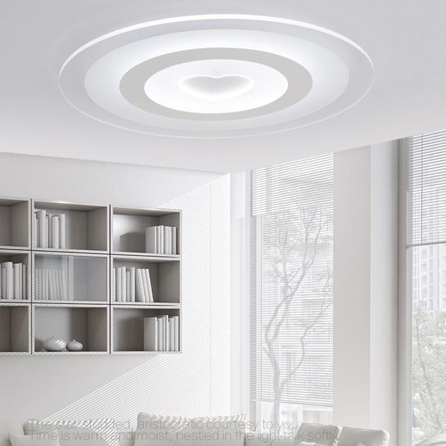Deckenleuchte Modernen Minimalistischen Warmes Schlafzimmer Lampe Runde  Atmosphäre Kleines Wohnzimmer Lampe Dimmen Lampen Und Laternen