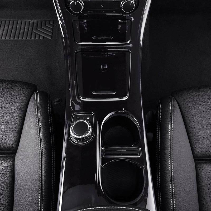 For Mercedes CLA 45 Amg/W117/C117/GLA250/220 Interior Modification In The Control Of The Gear Panel Decorative Accessories