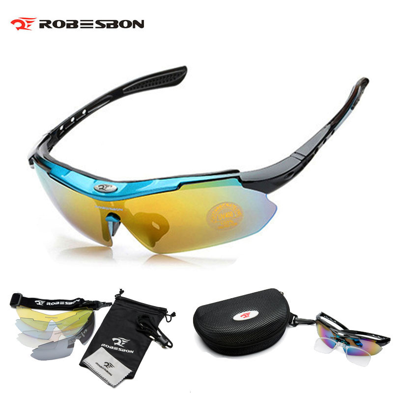 Bicycle Bike Sunglasses Sport Men Women Cycling Sun Glasses Eyewear 5 Lens Lunettes Cyclisme Accessories