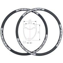 Ассиметричные карбоновые диски для дорожного диска 360 г 30 мм, ширина 25 мм, UD 3K 12K, твил, бескамерные, совместимые с внешними сосками 24H 28H 32H