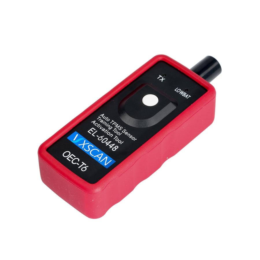 VXSCAN EL-60448 TPMS Reset Tool Tire Pressure Sensor OBD2 Diagnostic Scan Tool