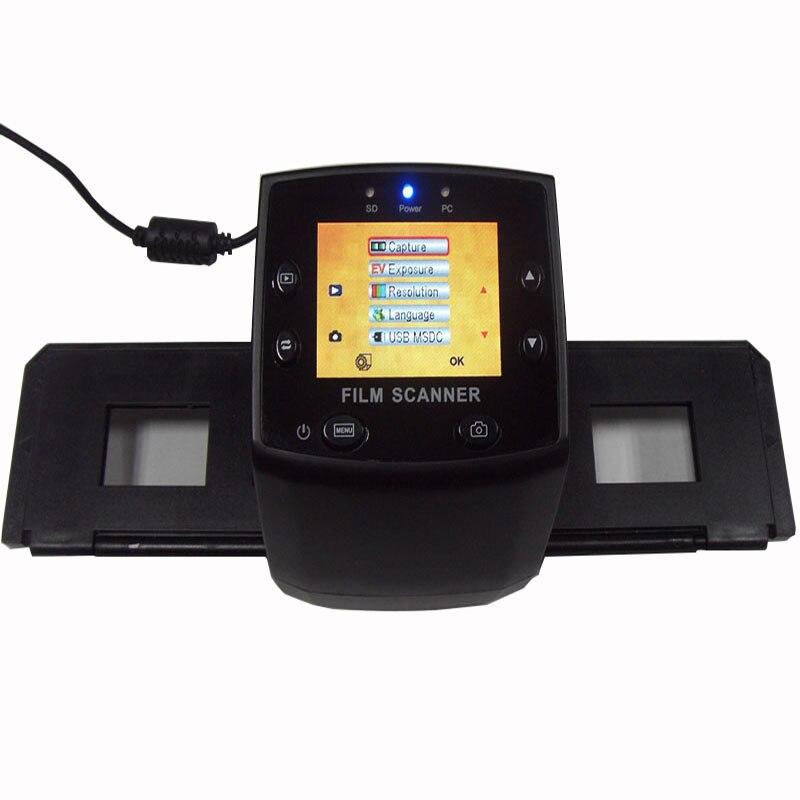Mini 35mm Negative Film Scanner 5mp 10MP Resolution black white Slide Digital scanner suport SDHC Card