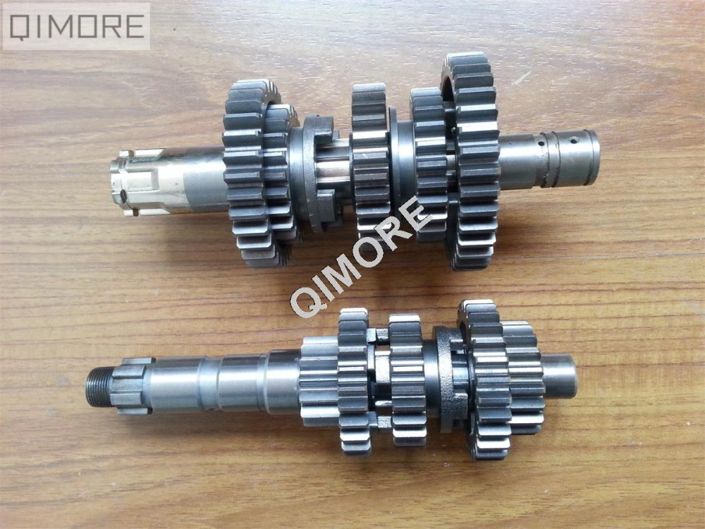 Transmission Main Shaft Counter Shaft Gears for Virago XV250 V Star Route 66 Supershadow Cruiser Vento