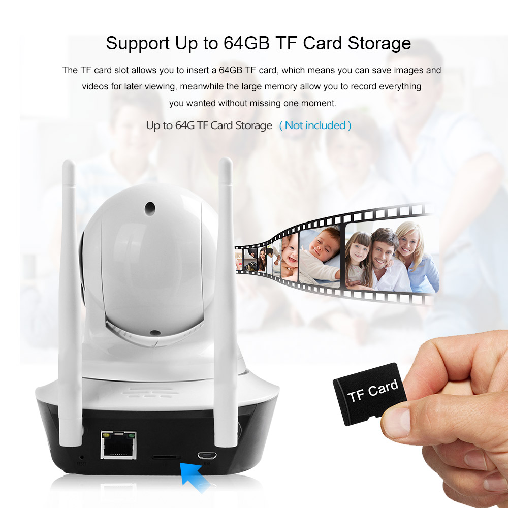 ZGWANG 1080p HD Trådlös säkerhet IP-kamera Nattvision Inspelning - Säkerhet och skydd - Foto 5