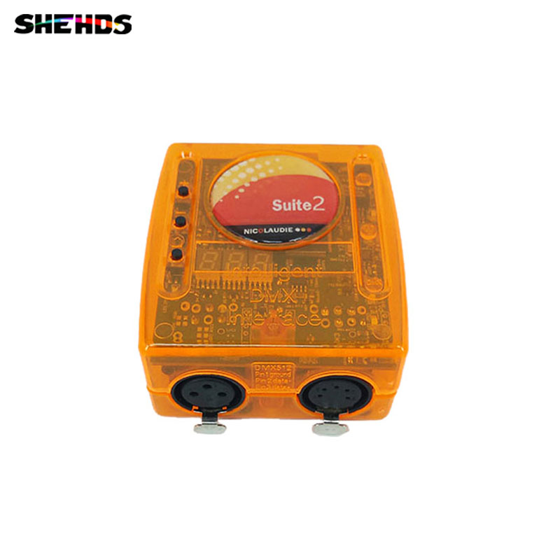 Sunlite Suite2 FC DMX-USD контроллер для вечерние KTV Диско DJ сценическое управление программным обеспечением, SHEHDS сценическое освещение.