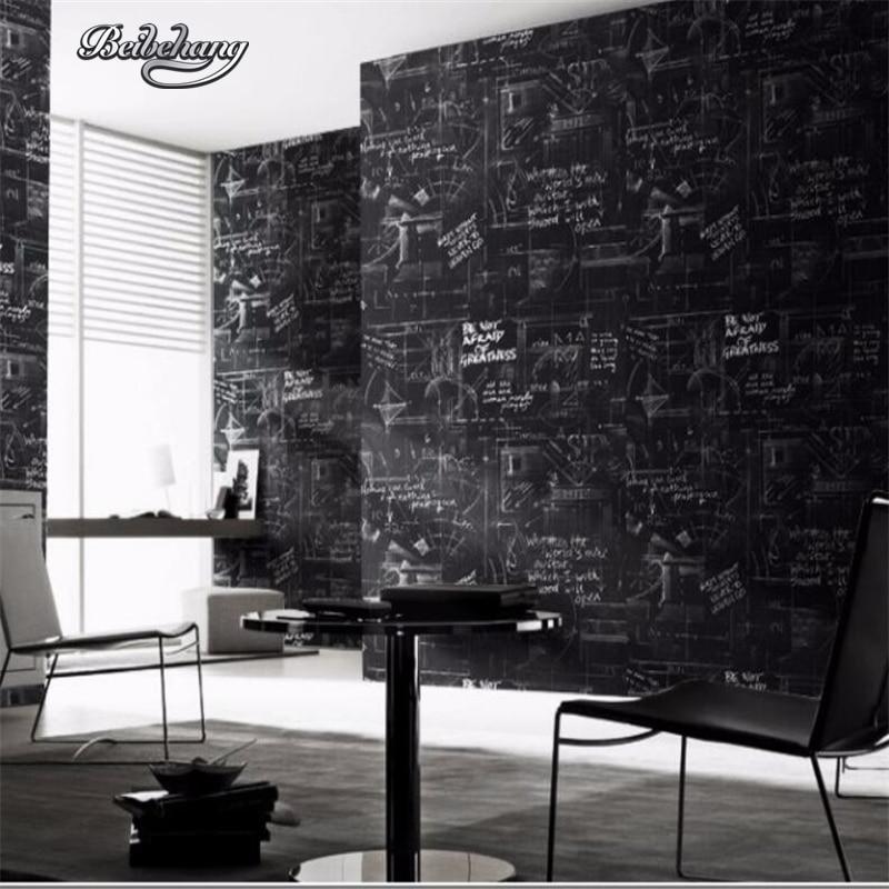 Beibehang moderne abstrait ligne papier peint noir mur papier rouleau chambre salon mur papier peint pour murs 3 d papel de parede