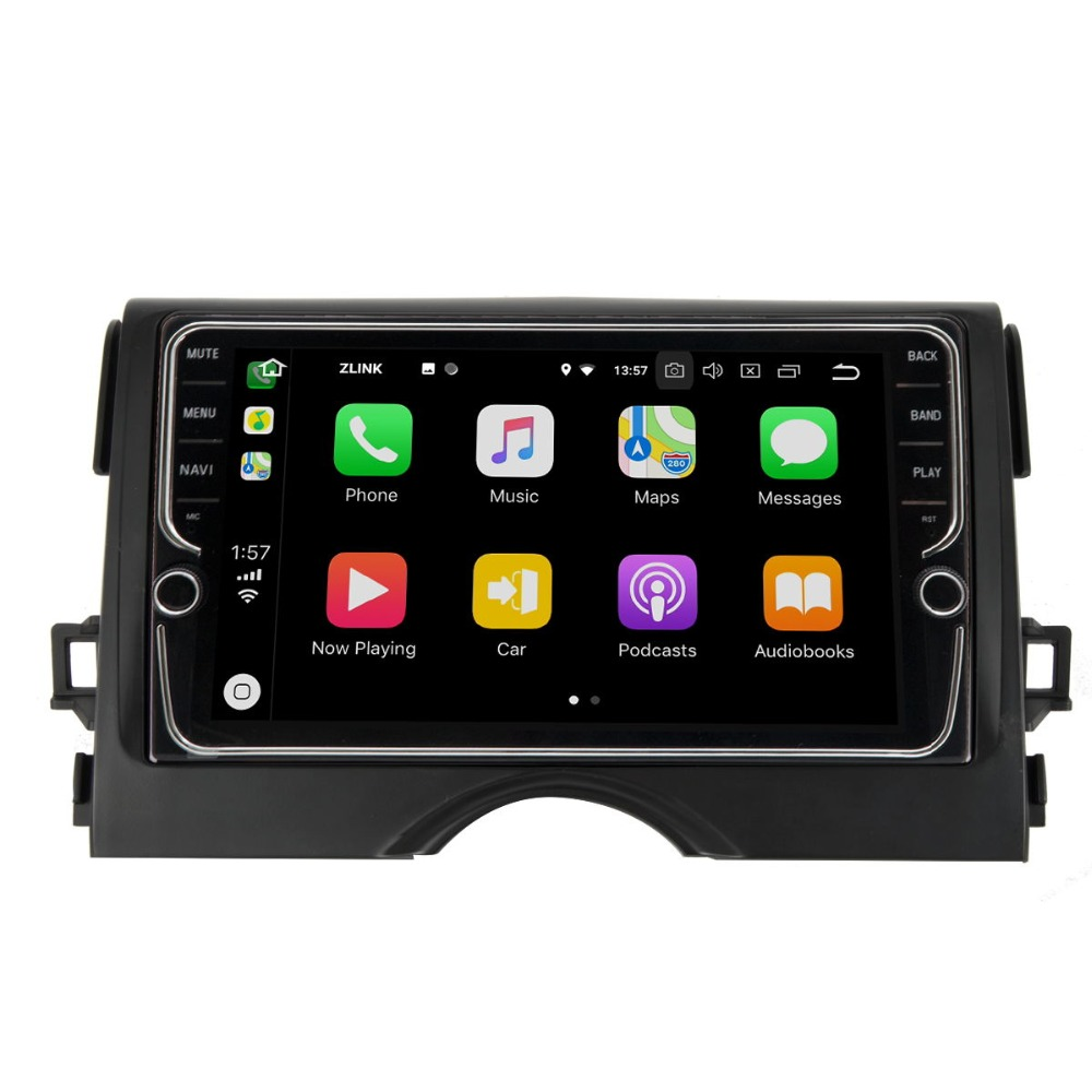 Discount 9 inch Android 8.1 4G Car Multimedia Player GPS Navigation For Toyota REIZ 2010-2018 0