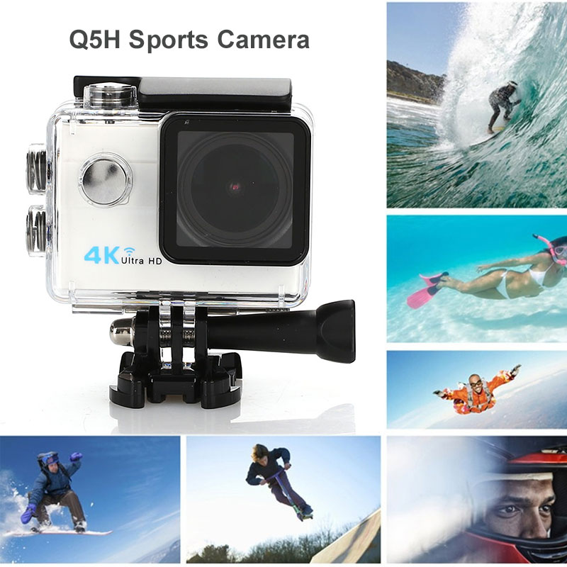 Hd Neueste Kollektion Von Sport Dv 1080 P Präzise Klettern Wasserdichte Kamera 2,0 Zoll Touch Screen Schwimmen Action Kamera Ultra 173°a Sport & Action-videokamera