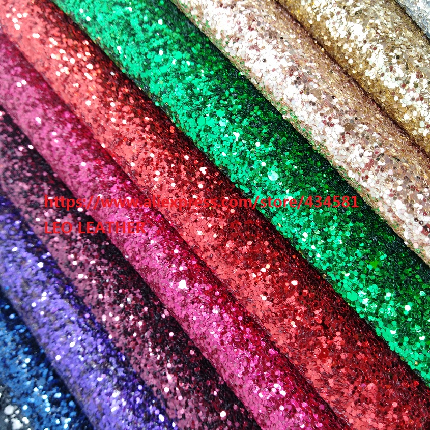 chunky glitter leather  Synthetic Leather for shoes handbags and DIY accessories P1450chunky glitter leather  Synthetic Leather for shoes handbags and DIY accessories P1450
