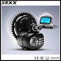 Torque Sensor Max 65N M 48V 350W Mid Motor Electric Bicycles Conversion Kits For Electrc Bike