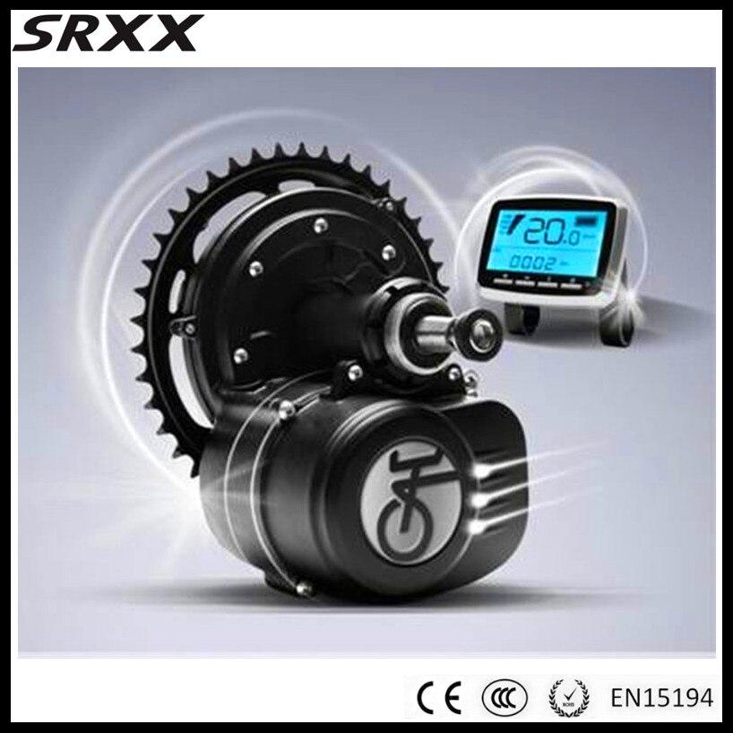 Capteur de couple Max 65N. m 48 V 350 W kits de conversion de vélos électriques à moteur moyen pour vélo électrique