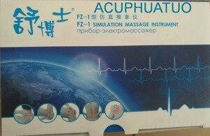 Image 5 - ACUPHUATUO nowy akupunktura elektroniczny masażer instrument masażer elektryczny urządzenie FZ 1 tylko wysyłka rosja z baterią