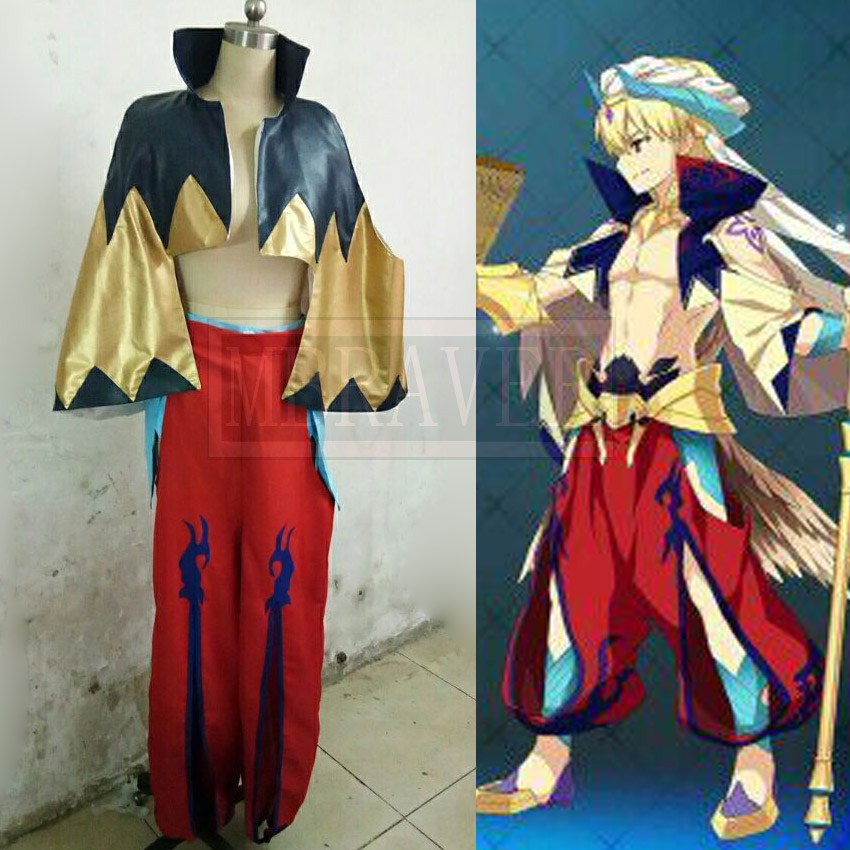 Fate/Grand Order Costume Gilgamesh Halloween Carnival Cosplay Costume Custom Made