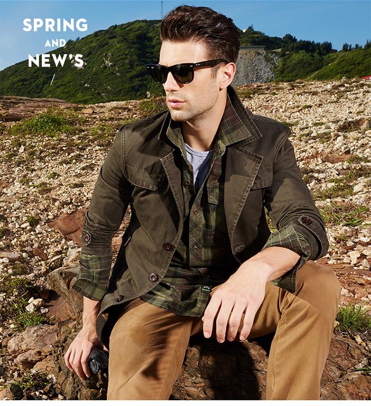 HTB1VHdeU4jaK1RjSZFAq6zdLFXaG Men's Spring Autumn Business Casual Long Cotton Trench Coat Jacket Men Winter Brand Classic Iconic Trench Breasted Overcoat Men