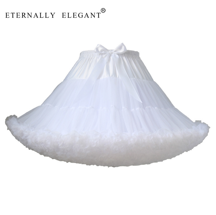 Skirt Petticoat Dress Tutu Faldas Short Lolita Multi-Color Girls New EE102