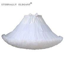 새로운 짧은 Tulle 페티코트 드레스 여자 스커트 페티코트 투투 로리타 Faldas 컵케익 드레스 멀티 컬러 EE102
