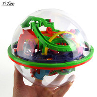 138 Stages Colorful 3D Ball Maze Ball Intellect Balance Bility Puzzle Educational Training Toys For Kids