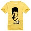2016 Copa Del Mundo Neymar da Silva de Verano hombres Camiseta culturismo compresión camiseta del niño camisetas de futbol maillot de pie