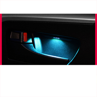 lsrtw2017 led car interior door atmosphere light for toyota rav4 2013 2014 2015 2016 2017 2018
