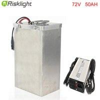 Высокое качество 72 V 50Ah аккумуляторная батарея литий ионный Средний привод Электрический велосипед