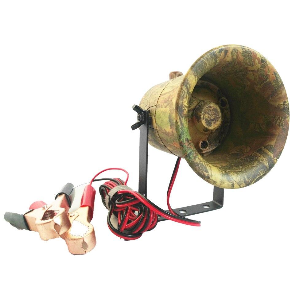 Camouflage Hunting Bird Caller 50W Speaker 150dB Bird Amplifier loudspeaker Built in 200 Bird Voices MP3