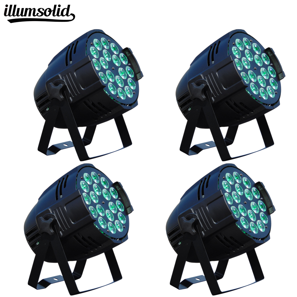 4pcs/lot 18x12w rgbw led par light DJ Aluminum shell dmx 512 light dmx dj wash lighting stage light4pcs/lot 18x12w rgbw led par light DJ Aluminum shell dmx 512 light dmx dj wash lighting stage light
