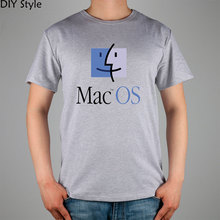Apple mac os imac männer kurzarm t-shirt baumwolle lycra top