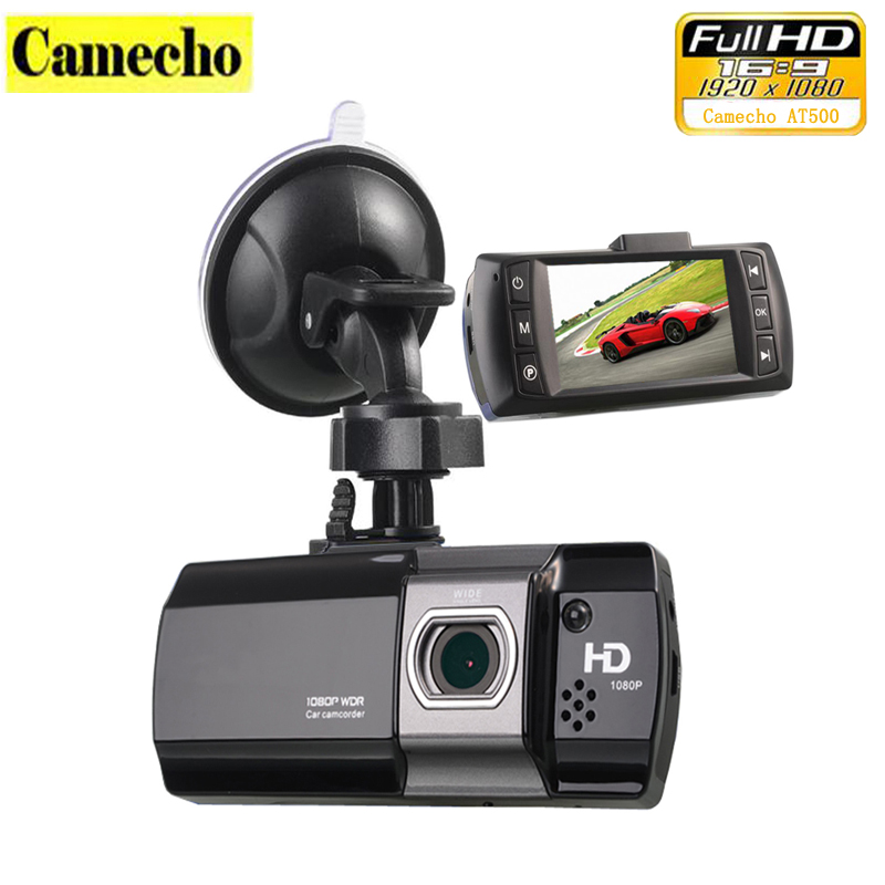 100 Original Novatek 96650 Car Camera DVR AT500 Dashcam Full HD 1080P Video Registrator Recorder G