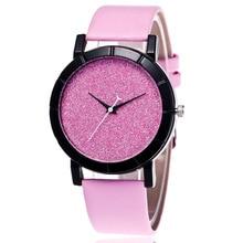 купить 2019 HOT Fashion Casual Starry Sky Women Watches Luxury Quartz Leather Strap Clock Watch Ladies Wristwatches Relojes Mujer Gifts недорого