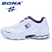 BONA New Arrival Classics Style Men Running Shoes Lace Up Sport Shoes Men Outdoor Jogging Walking Athletic Shoes Male For Retail