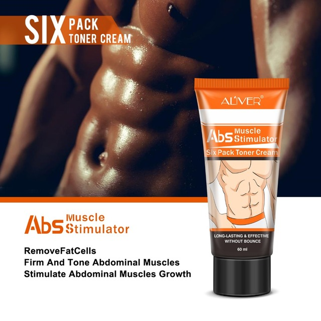Abdominal Muscle Cream Hot Cream Anti-Cellulite Slimming Creams Belly Muscle Tightening Cream Fat Burner Weight Loss Treatment 4